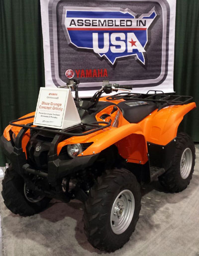 Yamaha Grizzly Orange