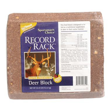 record rack deer block