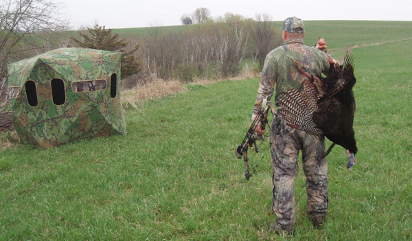 Bowhunting Turkey Tactic