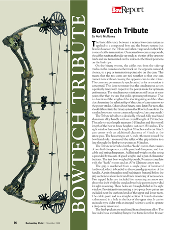 BowTech Tribute