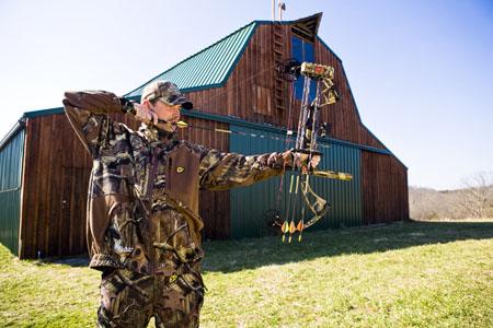 tough bow shot