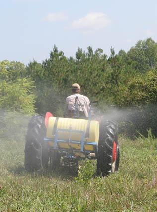 food plot weed herbicide