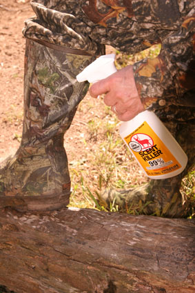 ground hunting scent control
