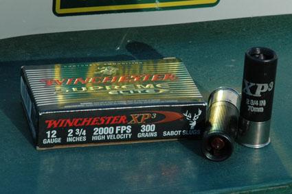 winchester xp3 slug
