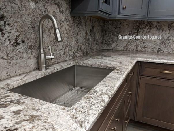 White granite countertops long island NY