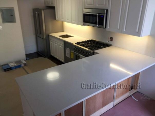 White quartz countertops long island NY