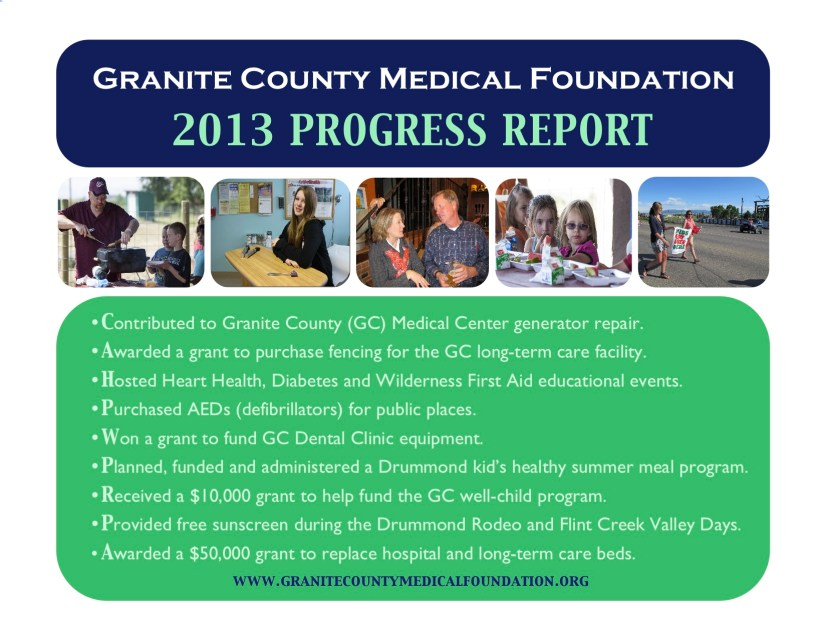 GCMF Progress Report
