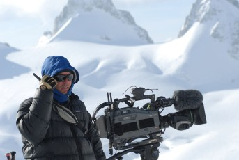 Filming in the Alps for Matchstick Productions