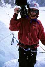 Jim Surette filming for National Geographic on Mt. Everest