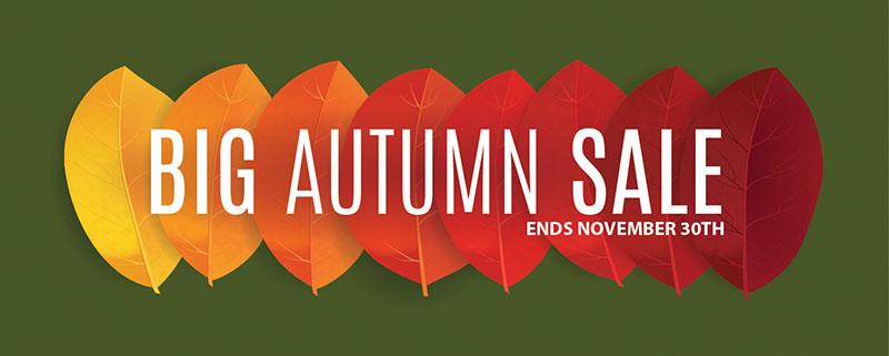 Granite's Big Autumn Sale!