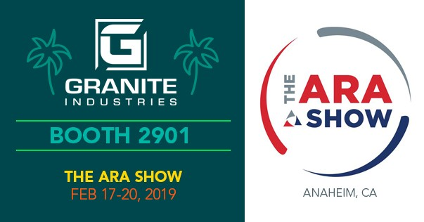 Granite Industries 2019 ARA Show Preview