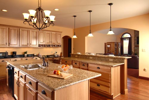 GraniteKitchenCountertopBrown