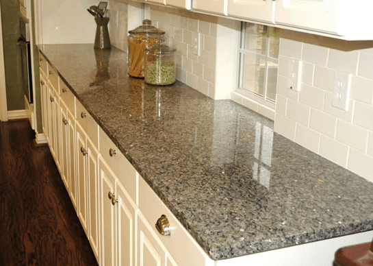 Silver Sparkle Granite Countertops Seattle