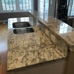 Aspen White Granite System Kitchen Countertops