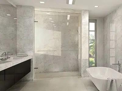 bathroom remodeling contractors shower