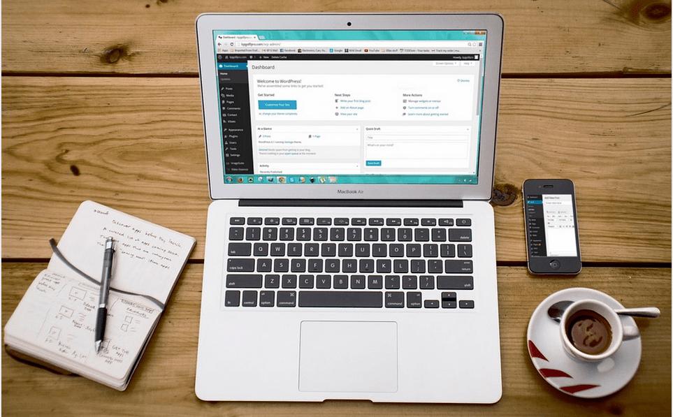 a business website