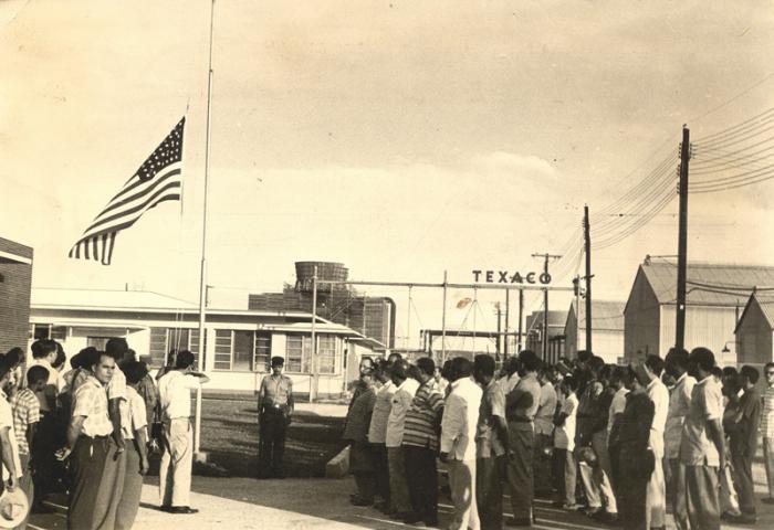 La intervención de la Refineria de Petróleo Norteamericana Texaco, La Habana.