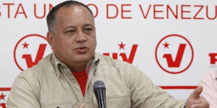 presidente del Parlamento venezolano, Diosdado Cabello