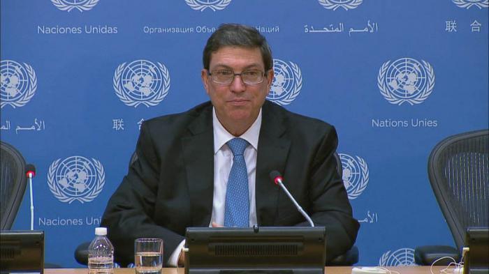 Canciller Cubano en la ONU.