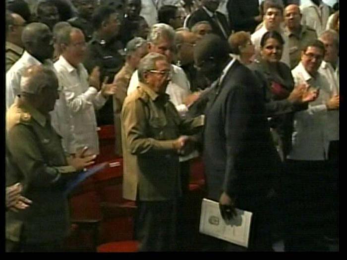 acto por el 40 aniversario de la independencia de Angola