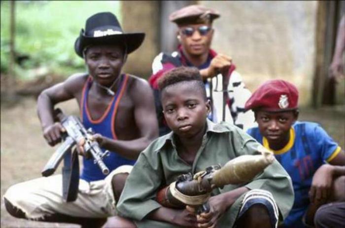 Resultado de imagen de Niños soldados en Sudán del Sur imágenes