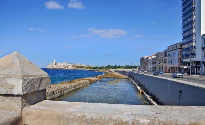 Fotorreportaje sobre el malecòn de La Habana