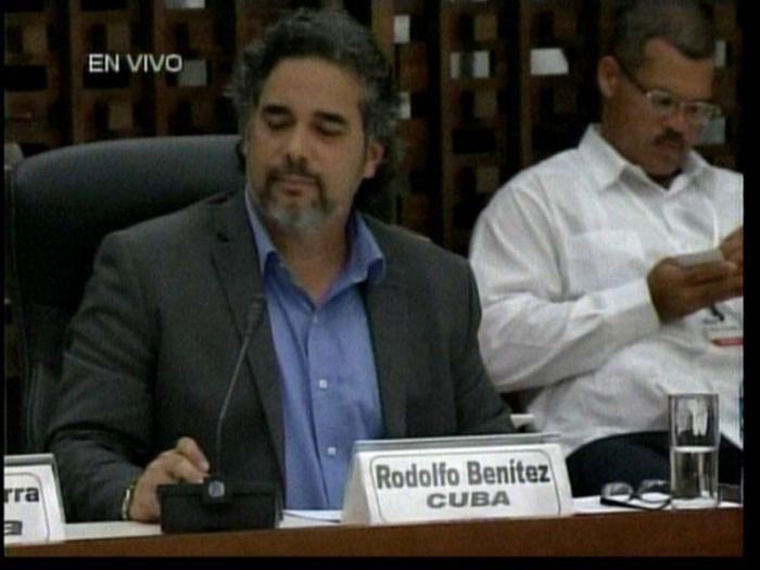 Rodolfo Benítez, representante de Cuba ante la ONU