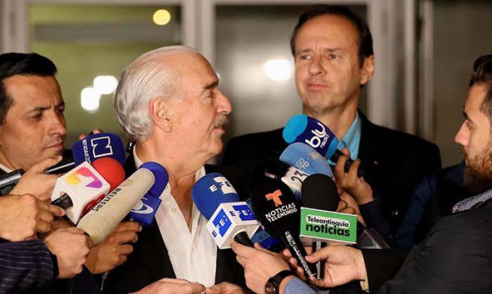 Los expresidentes de Colombia, Andres Pastrana, y Bolivia, Jorge (Tuto) Quiroga intentaron traer a Cuba un circo orquestado desde Washington.