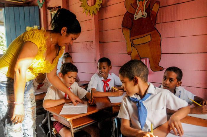 Cuba aspira a garantizar la mayor suma posible de derechos a su población desde el 1ro. de enero de 1959. FOTO: Endrys Correa