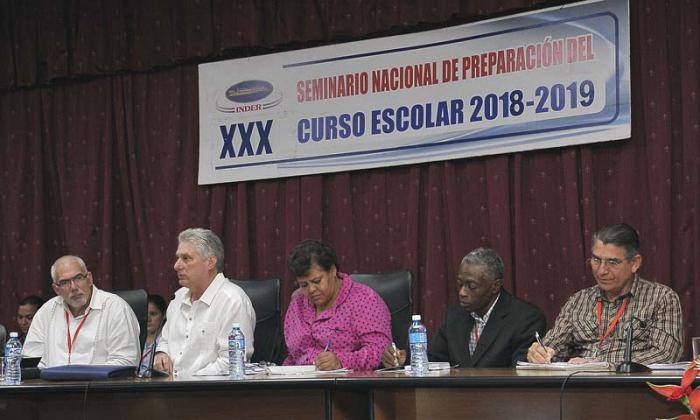 Cuba: Diaz-Canel speaks on Cuban sports system