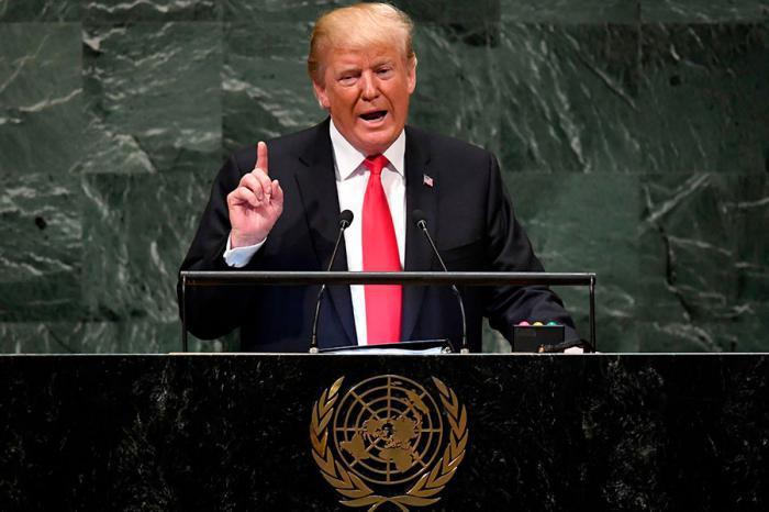 El discurso del presidente norteamericano Donald Trump, en la AGNU, estuvo cargado de incoherencias y una fuerte retórica al estilo de la guerra fría.