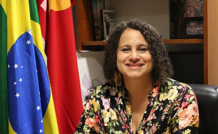 Luciana Barbosa de Oliveira Santos, Presidenta del Partido Comunista de Brasil (PCdoB) y vicegobernadora del estado de Pernambuco 2019