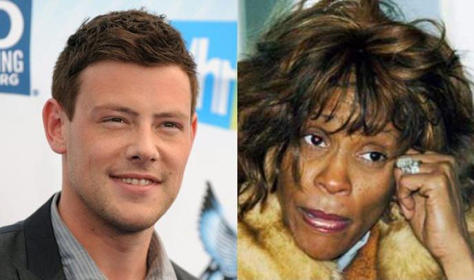 Tanto el joven actor Cory Monteith, uno de los protagonistas de la serie de televisión Glee, como la actriz y cantante Whitney Houston, perdieron la vida a causa del consumo de estupefacientes.