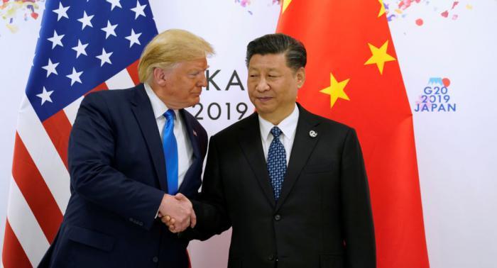 Donald Trump, presidente de los Estados Unidos y Xi Jinping, presidente de China
