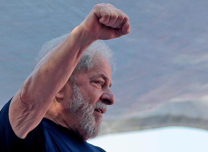 Lula da Silva: «Podré seguir preso cien años, pero no cambiaré mi dignidad por mi libertad». Foto: Rvte