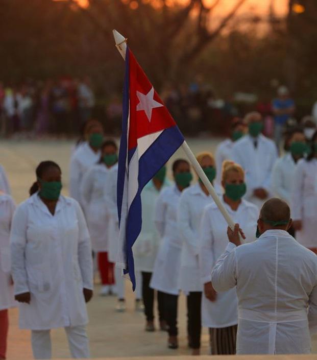 Brigadas médicas Henry Reeve en apoyo al enfrentamiento global contra la Covid-19