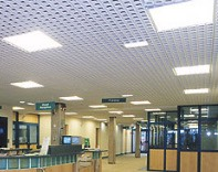 Suspended Ceiling for Offices and Reception