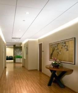 Suspended Ceiling for Foyer
