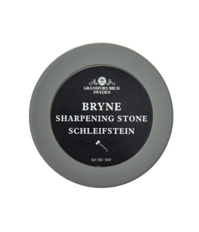 Byrne Ceramic Sharpening Stone in container