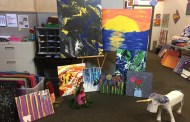Carey Services Hosts Community Art Experience