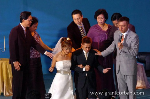Pastor Kevin Loo wedding to esther ku in City Harvest Church Subang