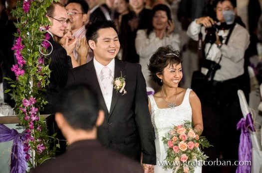 Douglas Lim actor comedian and stand up comic wedding day photos at the Concorde hotel