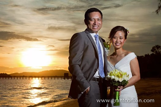 Wedding portraits at the Westin Hotel Langkawi