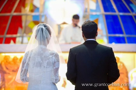 wedding in divine mercy church shah alam of clarence and joanna