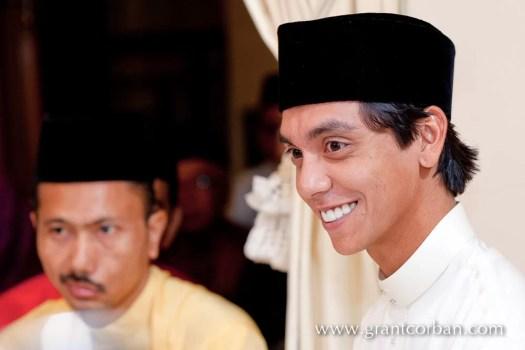 Tan Sri Dato' Seri Shahril bin Shamsuddin daughter areenas malay wedding