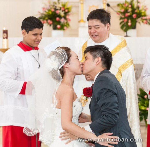 Our lady of lourdes Klang wedding