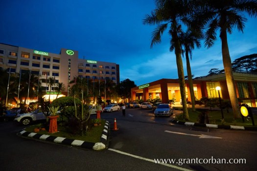 night view Allson Klana Resort Seremban