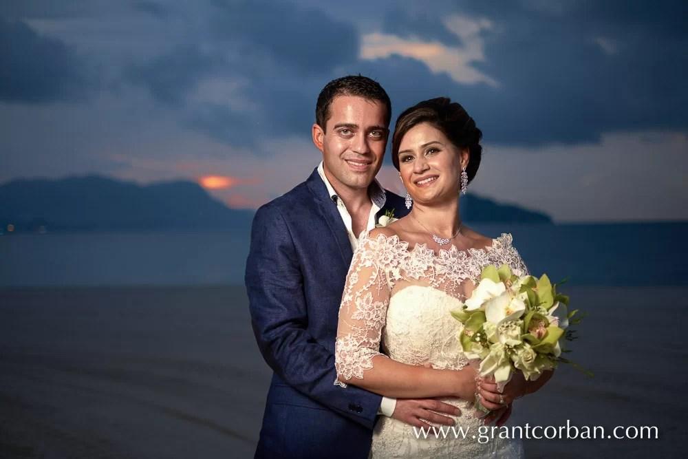 four seasons langkawi wedding portrait