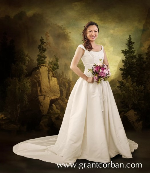 Carolina Herrera Wedding Gown in Malaysia