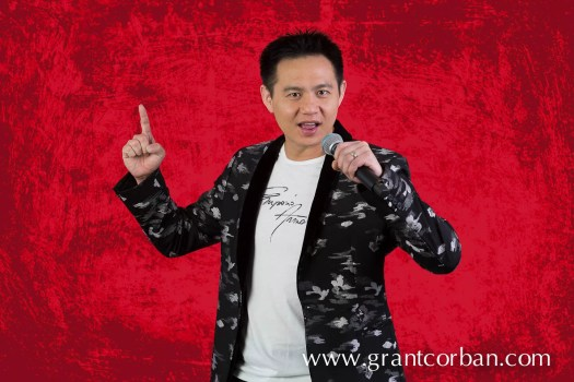 Douglas Lim the Malaysian stand up comedian